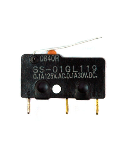 = SS-01GL 500pc Micro interruptor de límite Omron SS-01GL119 com-NC-NO Japón Mini tamaño