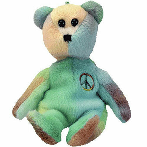 Buy Ty Beanie Babies 03505 Basket Beanies Peace The Bear online  b84f5c784b1