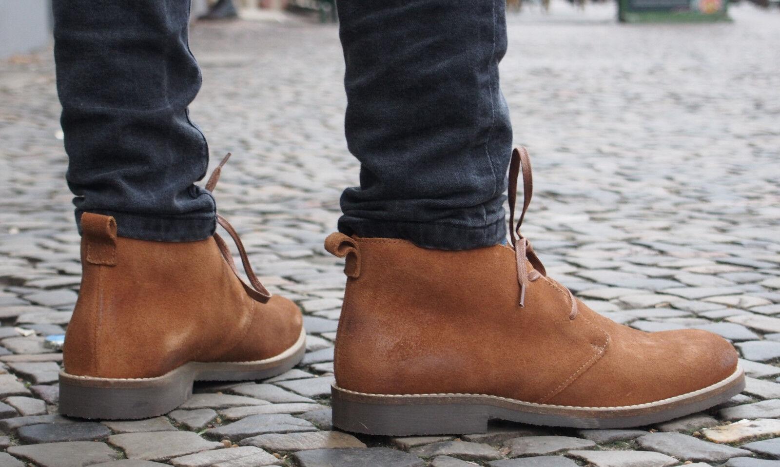 Shoot Schuhe SH216809C cognac braun Herrenschuhe Echtleder Schnürschuhe NEU SALE