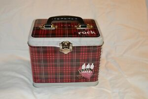 Disney-Jonas-Bros-red-plaid-Train-Case-by-The-Tin-Box-Co