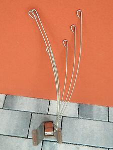 vintage ART DECO design ANCIEN support PORTE RIDEAU de DOUCHE holder ...