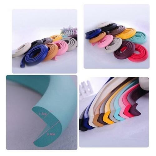 2M Baby Child Safety Rubber Foam Bumper Strip Safety Table Edge Corner Protector