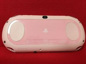 Details about Used PlayStation (R) Vita Wi-Fi model Light pink / white F/S  PCH-2000 ZA19 F/S J