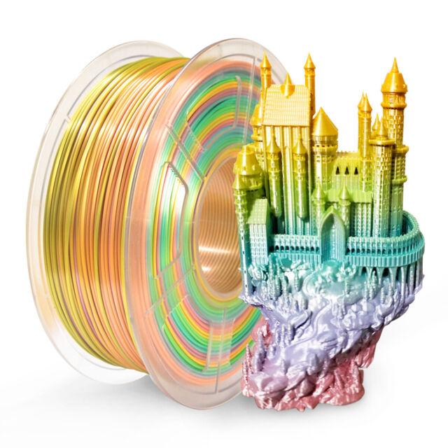 Dimensional Accuracy +//- 0.02 mm Black 1.75 mm 1 kg Spool SUNLU PETG 3D Printer Filament
