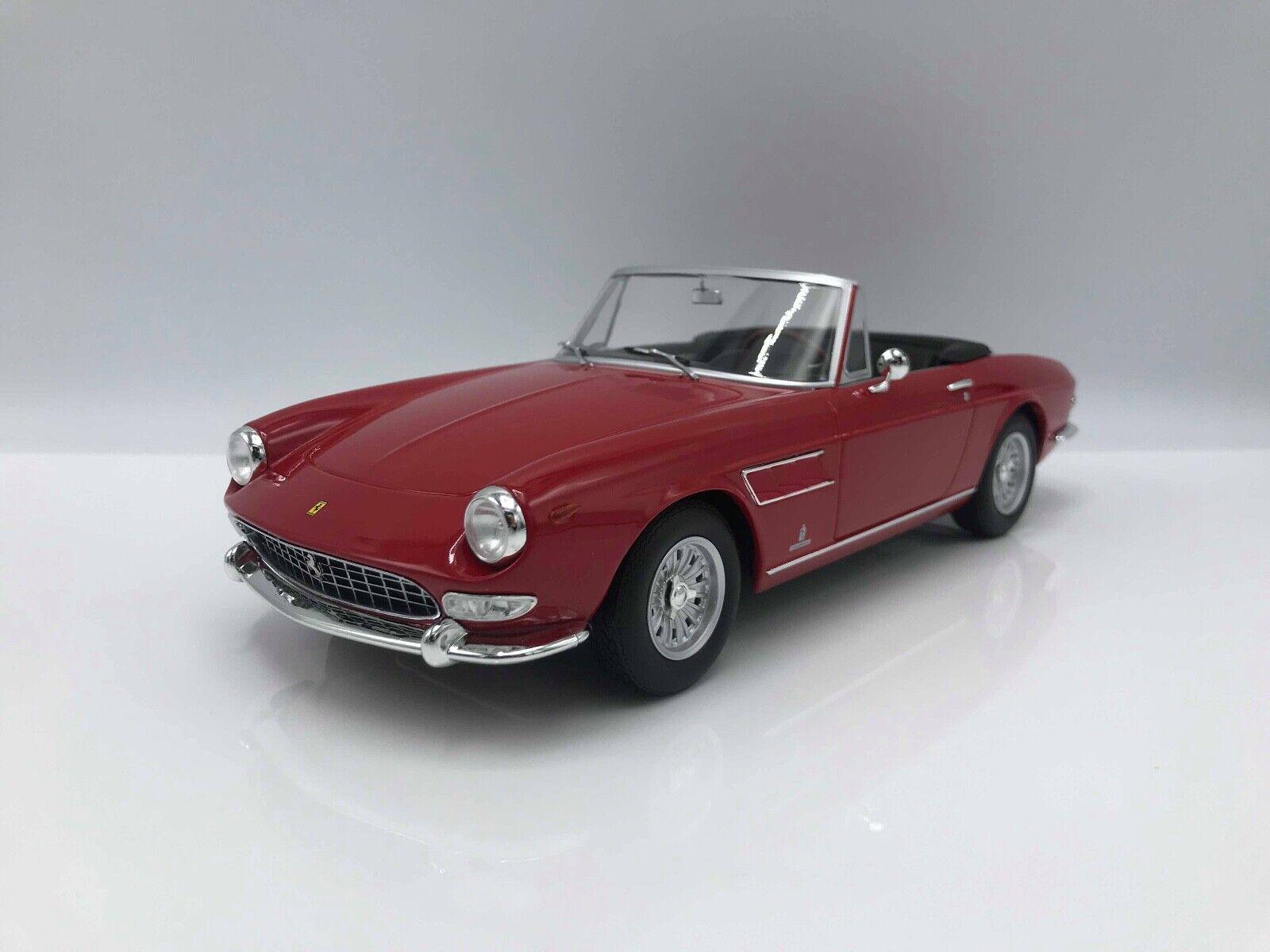 Ferrari 275 GTS Pininfarina Spyder rot (Stahlfelgen) 1964 -1 18 KK-Scale   NEW