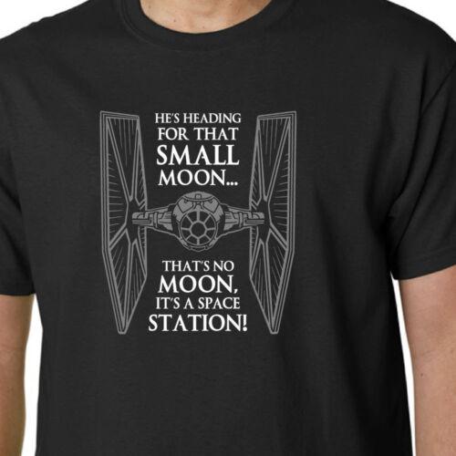 Tie fighter T-shirt Death Star cite Star Wars Jedi empire force éveille Geek