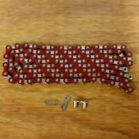 Bicycle Bmx Chain For 20 Inch Bikes Schwinn Others Red