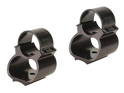 """742 760 Gloss 49715 Weaver 1/"""" Steel Lock See-Thru Ring Mount Remington 740"""