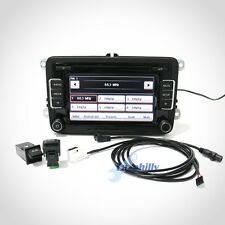 Car Radio RCD510 USB+Rear Image+USB/AUX Switch+Cable Set with code For VW