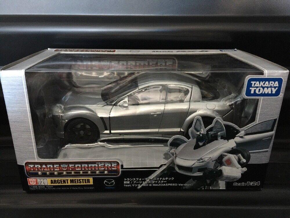 Transformers Takara Binaltech Meister Jazz BT20 Excellent New In Box.