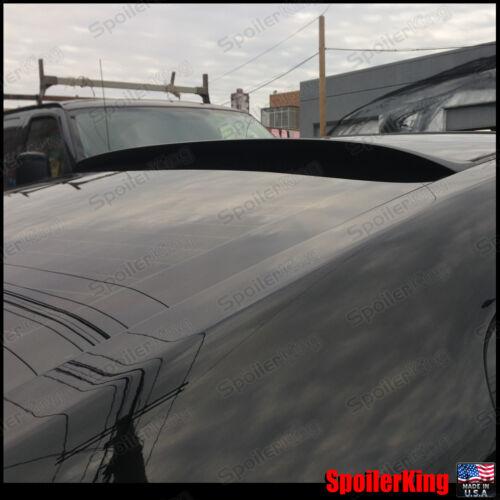 Fits: Nissan Altima 2007-2012 4dr SpoilerKing Rear Roof Spoiler Window Wing