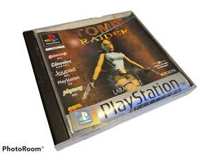 TOMB RAIDER 1 - SONY PLAYSTATION 1 PS1 VERSION FRANCAIS EIDOS PAL PLATINUM TBE