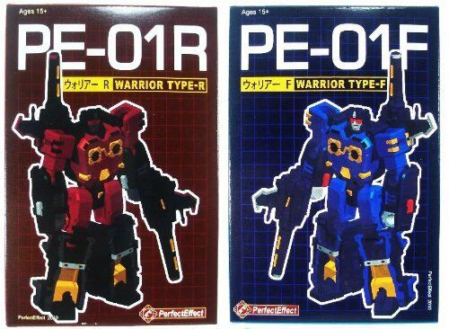 TRANSFORMERS G1 PERFECT EFFECT PE- 01R & 01F WARRIOR
