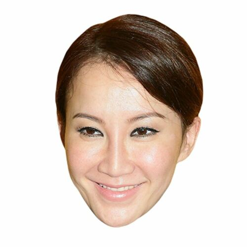 Card Face and Fancy Dress Mask Coco Lee Celebrity Mask