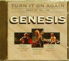 GENESIS 'TURN IT ON AGAIN BEST OF 81-83' 13-TRACK CD RARE VERTIGO