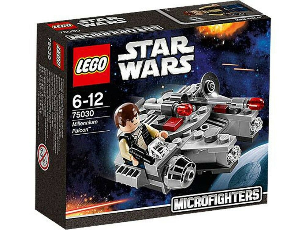 LEGO STAR WARS 75030 MILLENIUM FALCON MICROFIGHTERS SERIES 1 RETIRED NEW MISB