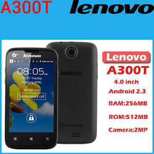 CELLULARE-SMARTPHONE-LENOVO-A300T-4-034-NERO-ANDROID-GSM-WIFI-NO-UMTS