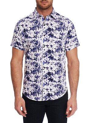 Robert Graham Mens Arabian Sea Long Sleeve Woven Shirt