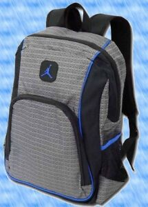 dd875cca30cf NIKE AIR JORDAN JUMPMAN SCHOOL BACKPACK 9A1223 LAPTOP BOOK BAG Black ...
