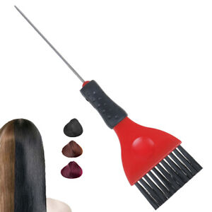 Plastic-Hair-Dyeing-Comb-Salon-Tinting-Brush-Barbers-Coloring-Highlighting-Br-QA
