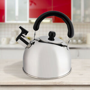 New-Durable-Camping-Stove-Kettle-Hob-Gas-Stainless-Steel-2-Litre-CLEARANCE-UK