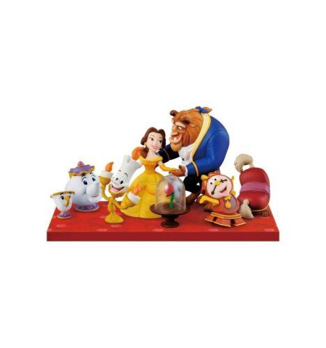 Banpresto disney characters wcf story 08 beauty and the beast full set