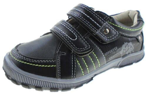 Boys DREAM Navy Trainers Sneakers Casual Touch Strap Sizes UK 8 EU 25 UK 12