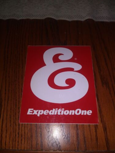 EXPEDITION ONE SKATEBOARDS THE OG ICONIC RED BOX LOGO SQUARE SKATEBOARD STICKER
