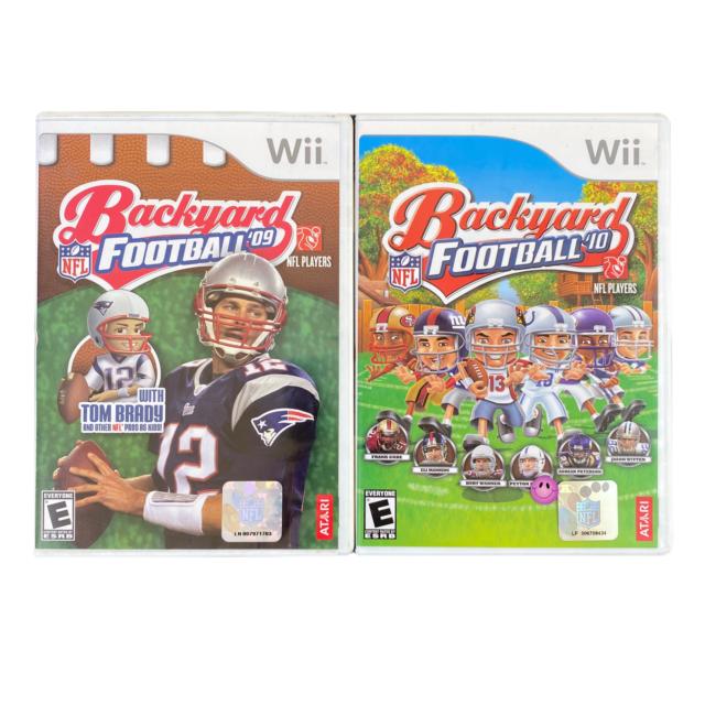Backyard Football 09 and Backyard Football 10 Nintendo Wii ...