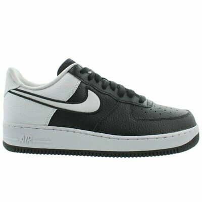 Nike Air Force 1 07 LV8 Mens AO2439 001 Black White Athletic Low Shoes Size 12 | eBay