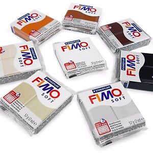 FIMO-Soft-Polymer-Oven-Modelling-Clay-57g-Set-of-8-Earth-Tones
