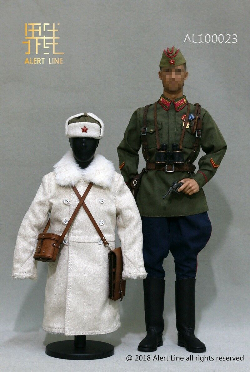 ALERT LINE 1 6 SCALE WWII RUSSIAN SOVIET UNIFORM AL100023 DRAGON DID HOT TOYS