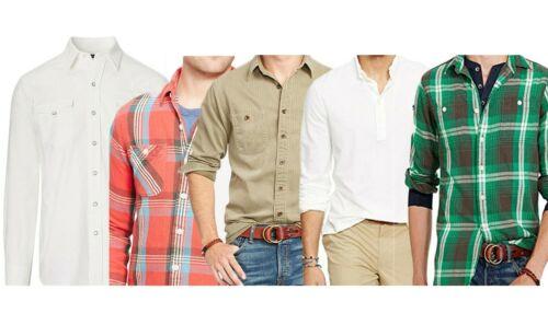 Polo Ralph Lauren Men/'s Button Down Collared Shirt