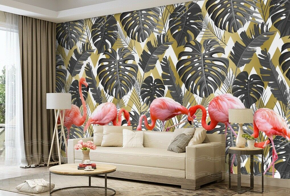 3D Grass Leaves 939 Wall Paper Exclusive MXY Wallpaper Mural Decal Indoor Wall