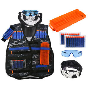 Image is loading Tactical-Vest-Kit-for-Nerf-Guns-N-Strike-