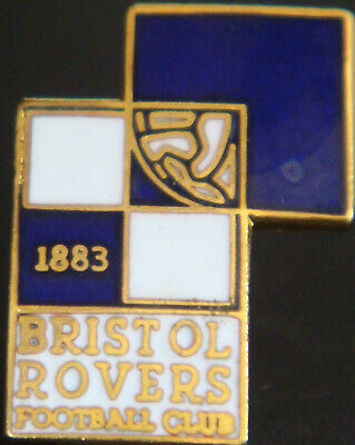 Rovers Till I Die! Very Rare Bristol Rovers Supporter Enamel Badge