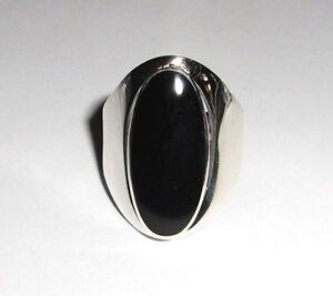 grosser-Onyx-Ring-925-oval-Schwarz-Silberring-Sterling-Silber-Ring-Gr-50-64-Neu