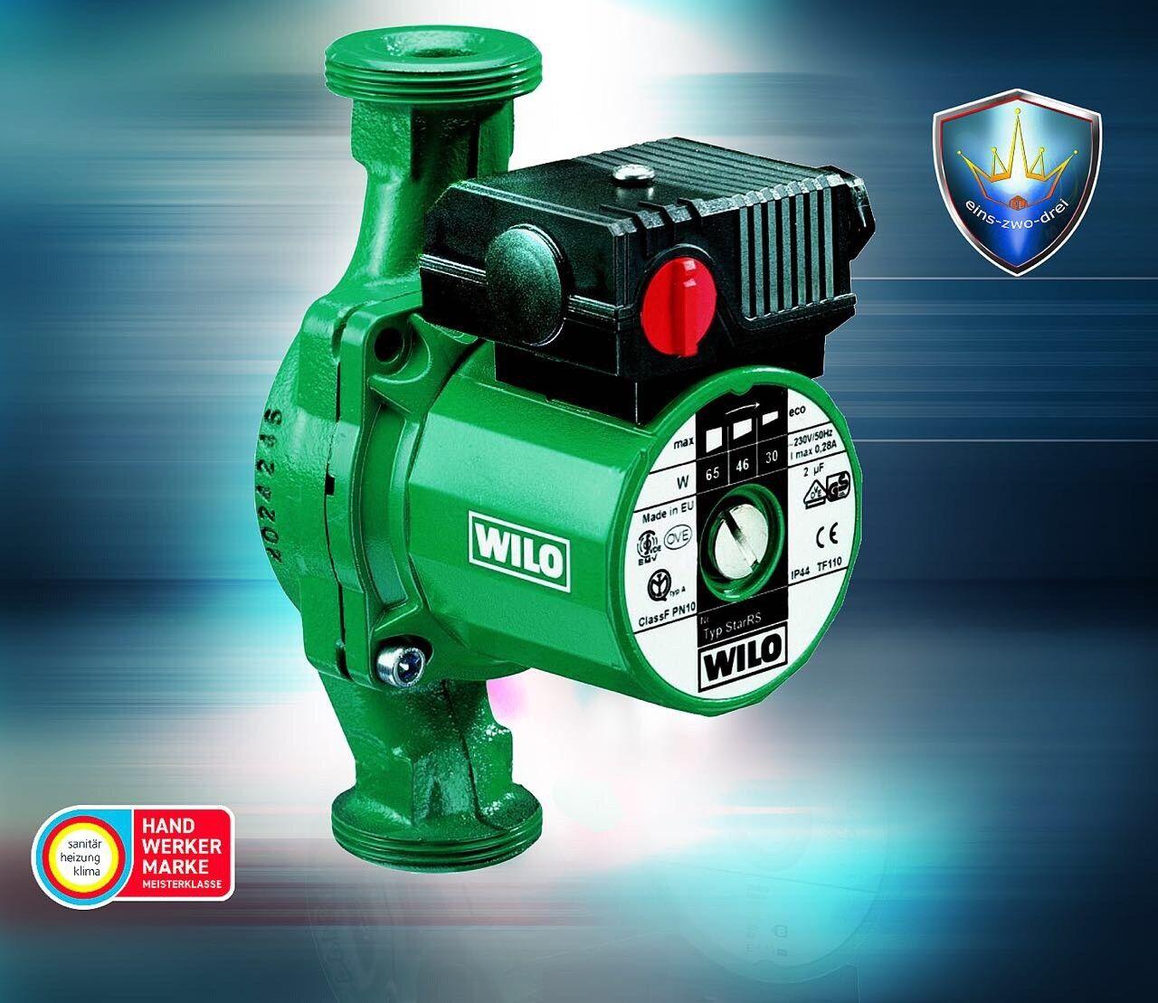 Wilo Star RS25/4 180mm 4032954 Heizungspumpe Umwälzpumpe gebraucht gebraucht gebraucht mit Rechnung 2c080e