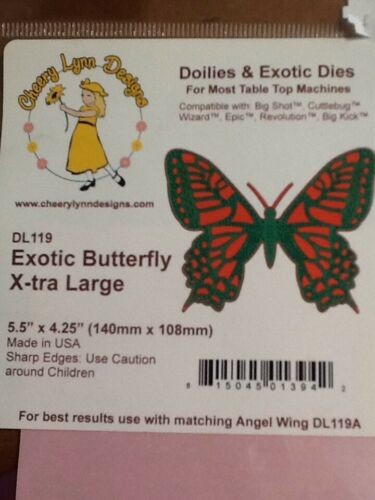 Cheery Lynn  Exotic Butterfly X-tra Large  DL119