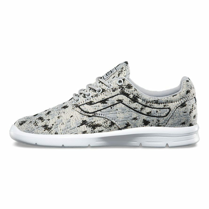 VANS ISO 1.5 1.5 1.5 (Italian Weave) Abstract Micro Chip UltraCush Trainer WOMEN'S 7 87bca0