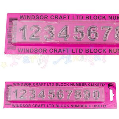 WINDSOR CLIKSTIX Block Numbers Case Cutter Numerals