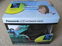 Panasonic Ty-ew3d2mmk2 3d Ultimate Pack (avatar 3d + 2 Rechargeable Glasses)