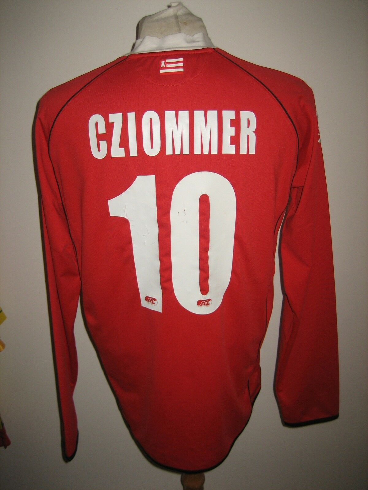 AZ Alkmaar CZIOMMER Holland football shirt soccer jersey voetbal trikot size XL