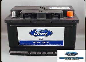 Genuine Ford Battery Silver Calcium 60 Ah 590a