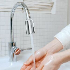Touchless Faucet Aerator Adapter Infrared Sensor Water Saving Rechargeable    eBay