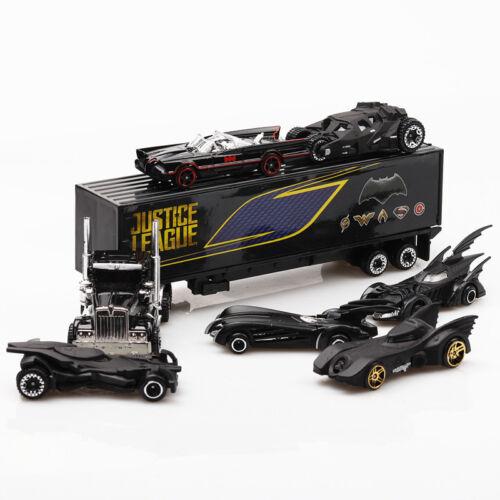 7Pcs Batman Batmobile Truck Car Model Toy Vehicle Metal Diecast Gift  UK Seller!