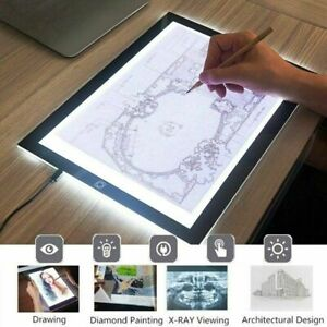 A5 USB LED Artist Tattoo Stencil Board Light Box Tracing Drawing Board Pad Table