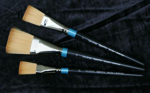 Daler Rowney Aquafine one stroke artistes Brosses Série AF21 X 3 Différentes Tailles