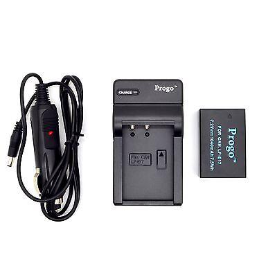 Ex-Pro Canon LC-E17E LC-E17 USB Cargador Para Batería LP-E17 EOS Digital Rebel T6i