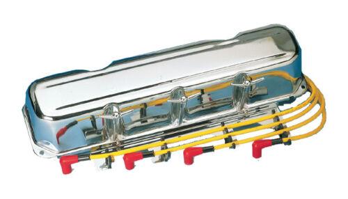 """4x Ventildeckel Schrauben 1//4/""""x20 Chevrolet One-Fifty Twi Ten Bel-Air Chrom"""
